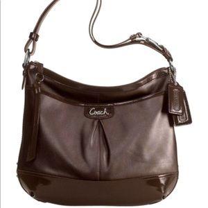 COACH Park leather shoulder tote bag